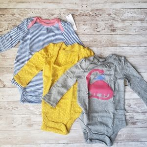Gap Baby Long Sleeve Bodysuits